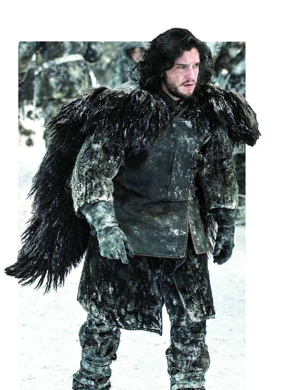 HE KNOWS SOMETHING: Jon Snow from season 3 of 'Game of Thrones'.
