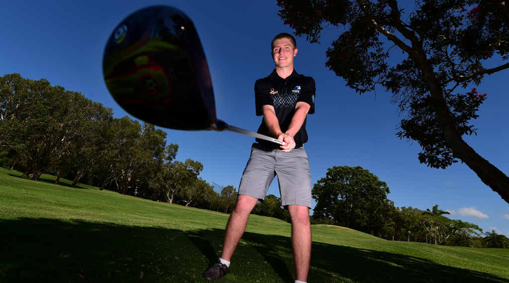 MAJOR AMBITIONS: Will White of Horton Park Golf Club has been nominated for Queensland Golf Trainee of the Year.
