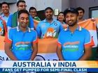"Indian cricket fans laugh off Karl Stefanovic's question, ""Who's gonna be manning the 7-Elevens?""."