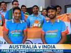 """Indian cricket fans laugh off Karl Stefanovic's question, """"Who's gonna be manning the 7-Elevens?""""."""