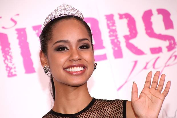 Ariana Miyamoto, Miss Universe Japan 2015 (photo from Facebook).