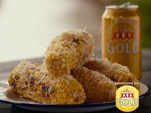 Grilled corncob