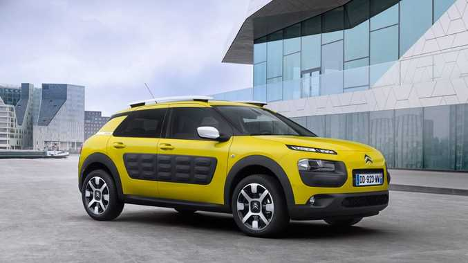 The Citroen C4 Cactus will be in Australia next year.