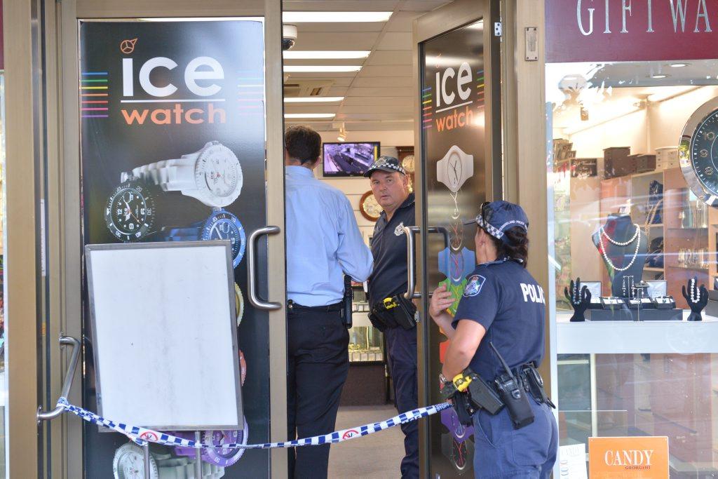 Jewellery store in Nambour was robbed. Photo: John McCutcheon / Sunshine Coast Daily