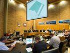 Coffs Harbour Council vote on development application north of Emerald Beach caravan park . 26 March 2015 Photo Trevor Veale / Coffs Coast Advocate