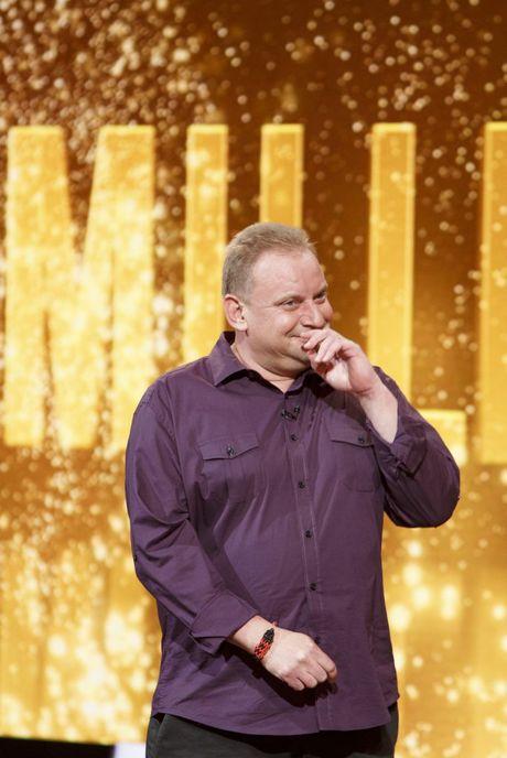 Million Dollar Minute contestant Andrew Skarbek pictured the moment he won $1 million.