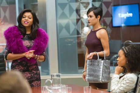 Taraji P Henson and Grace Gealey in a scene from the TV series Empire.