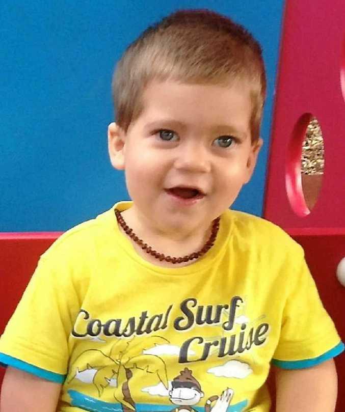 BRAVE BOY: Hudson Chirio has epilepsy and will undergo a left hemispherectomy to stop his seizures.
