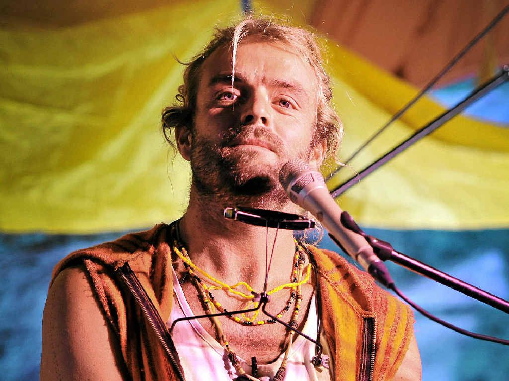 TRIBUTE: Xavier Rudd's latest album is called Nanna.