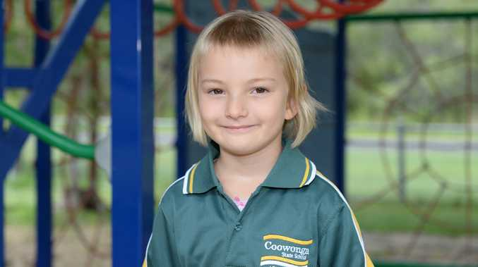 The Morning Bulletin's My First Year prep publication will be in papers on Wednesday, April 15. My First Year features prep classes from the Rockhampton Region and the Capricorn Coast including young Coowonga State School prep student Amelia Evans-Barlow. Photo: Chris Ison / The Morning Bulletin