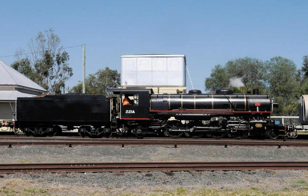MOVING TRIBUTE: In the week leading up to Anzac Day, a steam train will re-enact the journey many Queensland soldiers took during the first and second world wars.