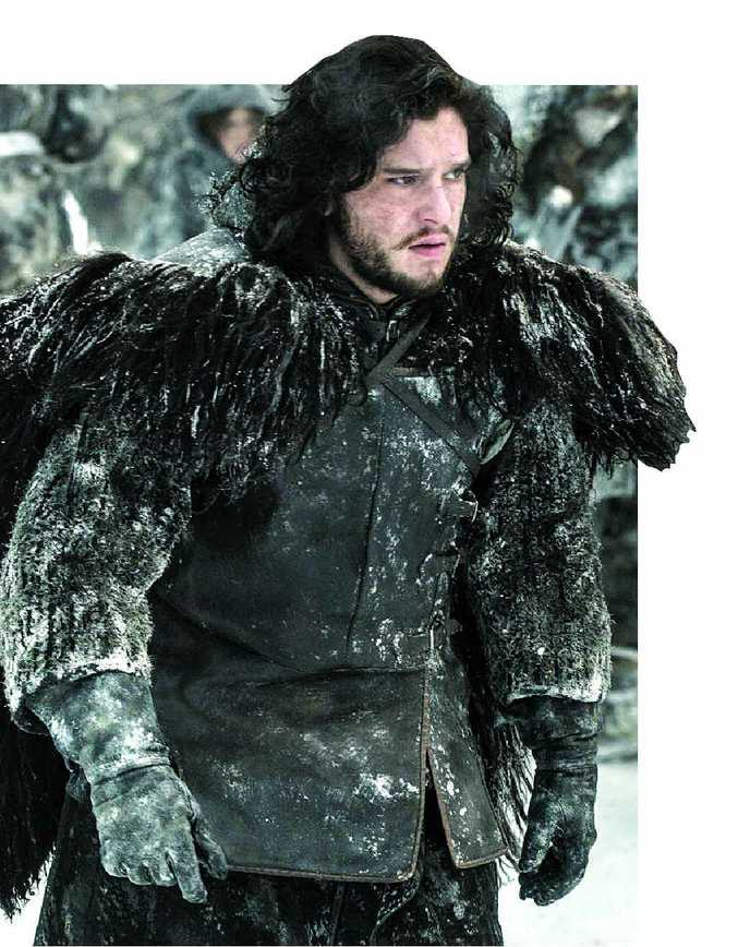 COLD BUT OH SO HOT: John Snow and the Game of Thrones will be back on television screens in just over two weeks.