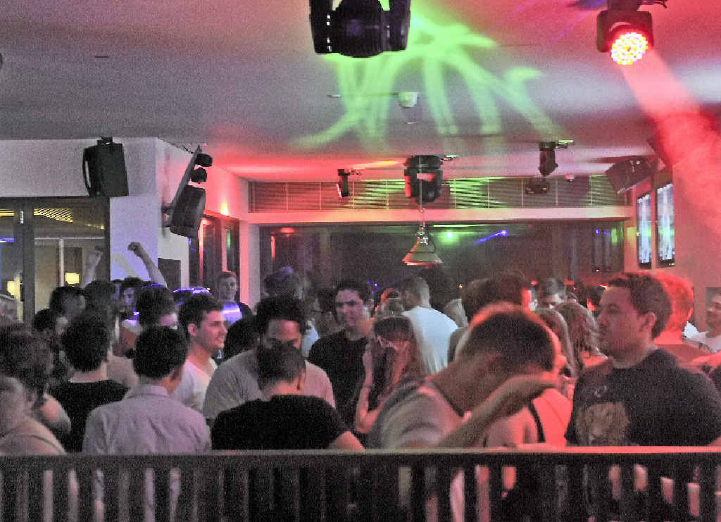 Punters are welcome to party at Gladstone's Reef Hotel until 3am.
