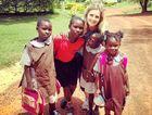 Lauren Bourke spent her time volunteering in Uganda with the organisation Watoto.