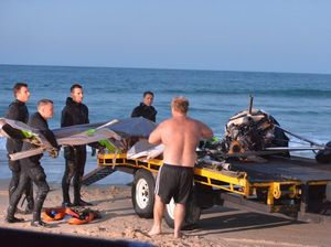 NEW VIDEO: Noosa ultralight crash investigation underway