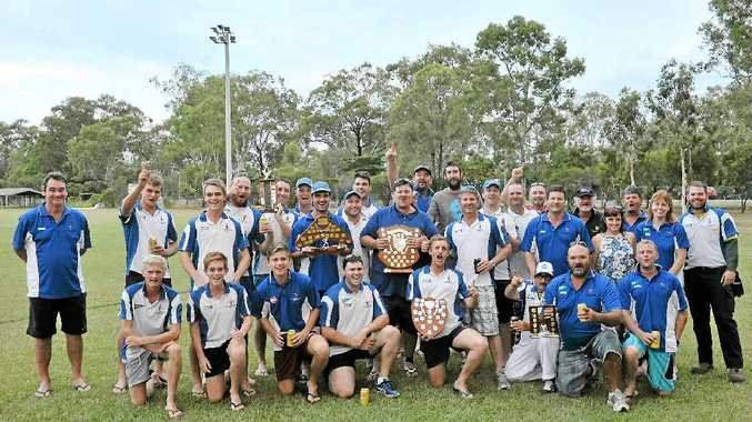 DOUBLE OR NOTHING: Brothers Cricket Club won both the a-grade and reserves grand finals.