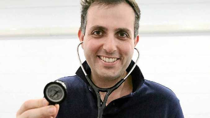 UNDER THE PUMP: Interventional cardiologist Dr Alexander Incani is bringing specialist care to health centre, CQ Cardiac.