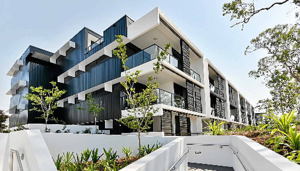 Toowoomba company McNab won the best development in Australia for The Village Coorparoo.