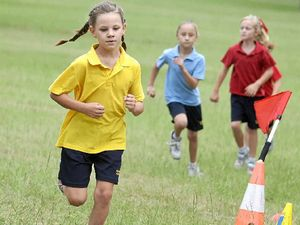 St Mary's School students go cross country