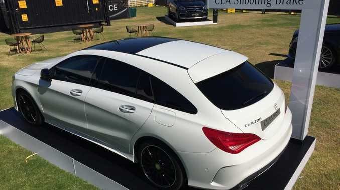 The Mercedes-Benz CLA Shooting Brake.
