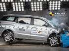 The new Kia Carnival undergoes crash testing.
