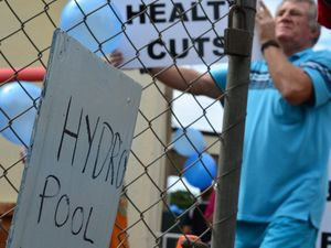 Childers pool protest