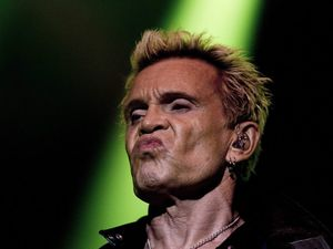 The Angels and Billy Idol at A Day on the Green