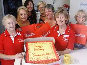 Rescue chopper volunteers have their cake and eat it
