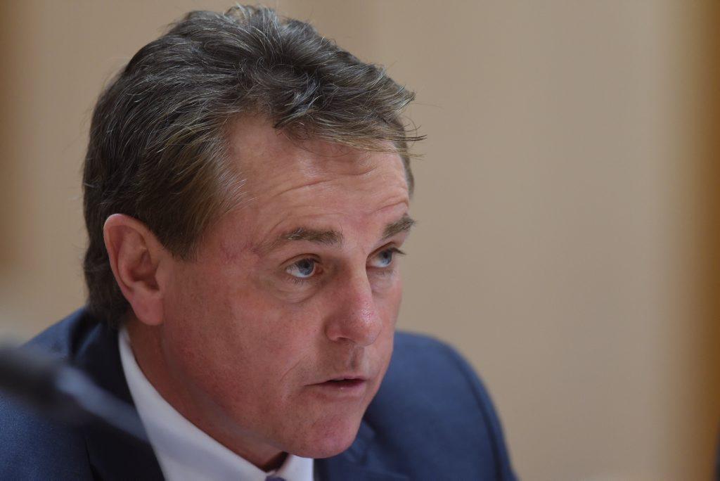 ASADA chief executive Ben McDevitt