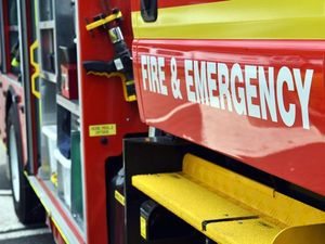 Teen suffers minor injuries in two-vehicle crash