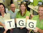 GROWING UP: The Guinea Group's Allison Perry, owner Anton Guinea, Angela Layt and Sonia Mobbs are looking forward to growing the business.