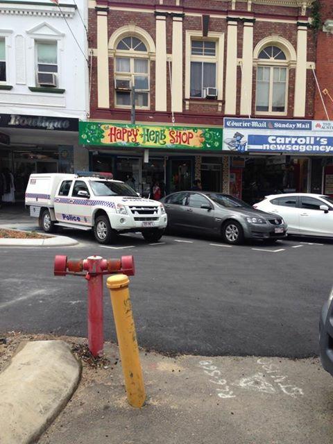 Drug raid at Happy High Herbs, Mackay.