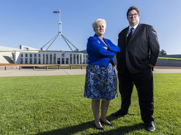 Federal Member for Capricornia Michelle Landry and Federal Member for Dawson George Christensen are taking their fight to the floor of Parliament House in Canberra, with a bill to make it illegal for companies to lock people out of jobs based on their home location.