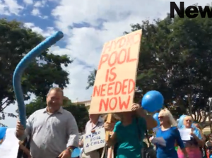 Childers community protests hydrotherapy pool funding decision