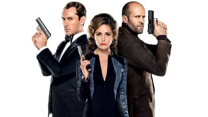 Jude Law, Rose Byrne and Jason Statham star in the movie Spy.