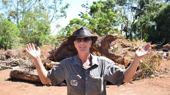 ooberrie Park wildlife keeper Kieron Smedley is ready for a ripper reopening weekend this weekend.
