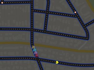Pac-Man takes over your streets, thanks to Google Maps