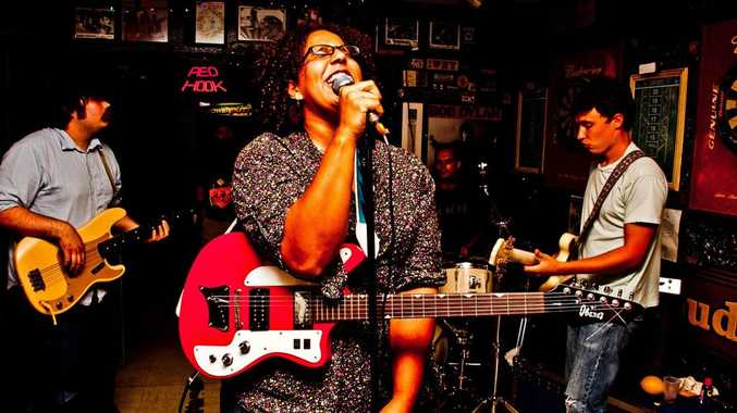 The band Alabama Shakes.