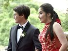 FUN ARRIVAL: Mia Walton and Cormakc Ebbage Fairholme College Formal Photo Bev Lacey / The Chronicle