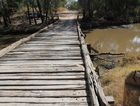 The last timber bridge on the Capricorn Highway will be replaced. PHOTO: FILE