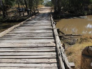 No more timber bridges for the Capricorn Highway