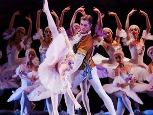 Russian ballet brings Sleeping Beauty to life