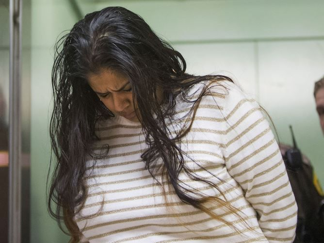 Purvi Patel is taken into custody after being sentenced to 20 years in prison for feticide and neglect of a dependent