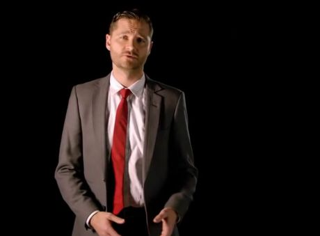 Popular television presenter Charlie Pickering stands with Our Watch in the fight against abuse