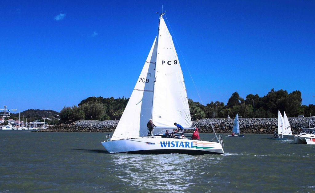 Gladstone icon: Wistari sails on Photo Contributed by Marina Hobbs