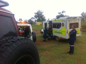 Rider airlifted after motocross accident