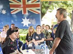 Reclaim Australia Rally in Toowoomba