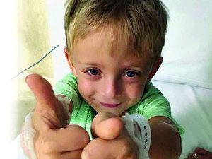 Dad's kidney is best hope for Hunter, 3