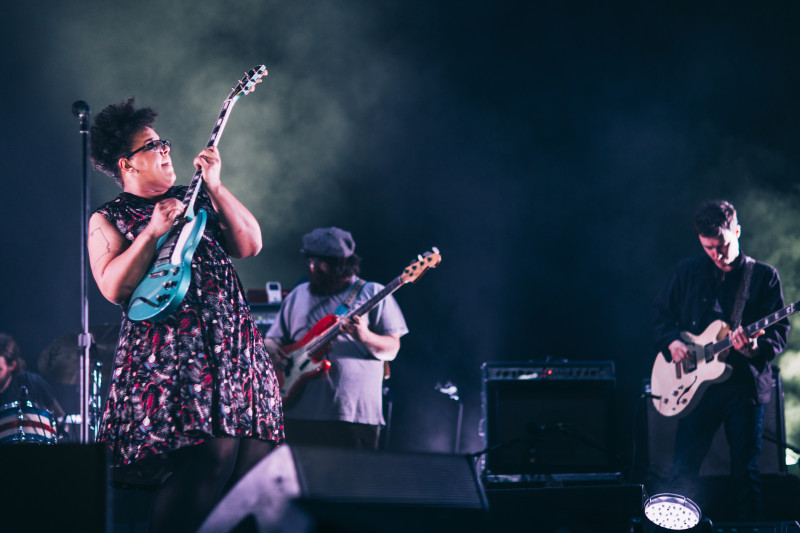 The Alabama Shakes during a 2014 show in the US.