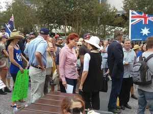 Reclaim Australia Rally in Mackay